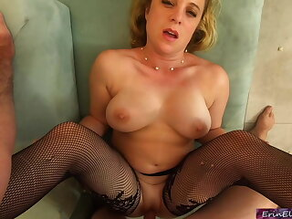 Your stepmom helps you with your porn addiction (POV)