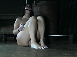 That chubby ass babe must be guilty of something and she is procurement toyed