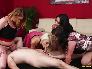 Footjob experience about group scenes with the wives craving to fuck