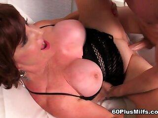 Big-Titted Redheaded Granny Commons Cum - Gabriella Lamay And Tony Rubino - 60PlusMilfs