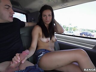 Beautiful bungler girl gets come wits the van to be fucked wits a exotic